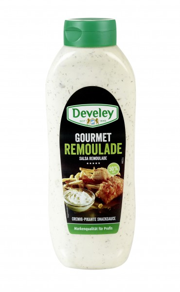 Develey Remoualde 50% 875ml Plastikflasche