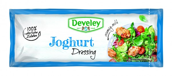 Develey Joghurt Dressing 25 ML Portionsbeutel