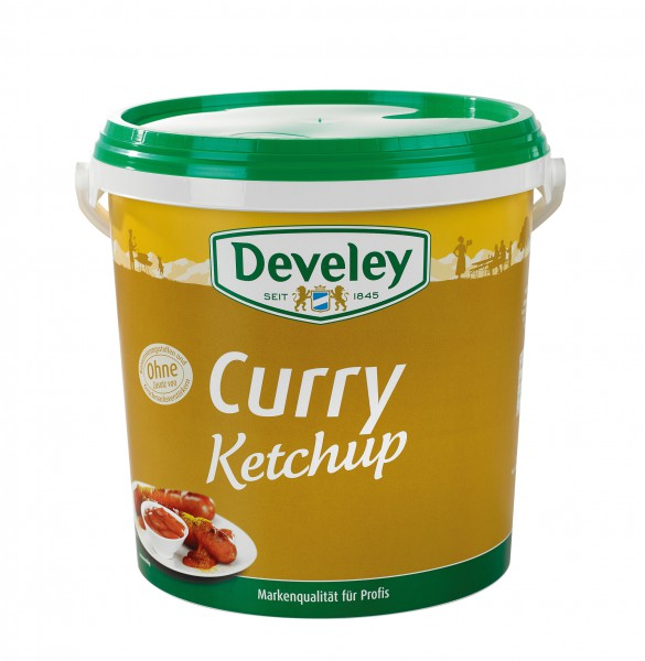 Develey Curry Ketchup 10 kg Eimer