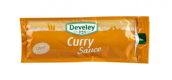 Develey Curry Sauce 20 ml Portionsbeutel