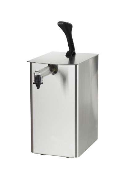Develey Food Service 1er Edelstahldispenser für 5kg Dispenserbeutel