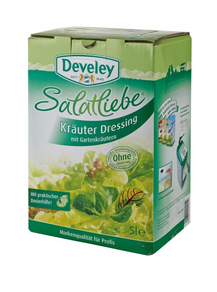 Develey Kräuter Dressing 5 l Bag in Box