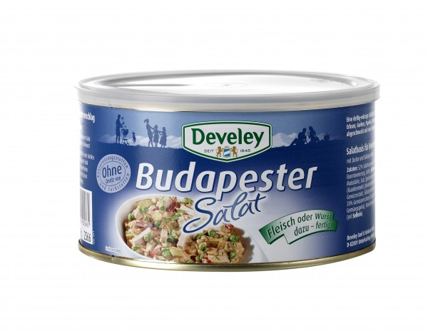 Develey Budapester Salat 1400 ml Dose