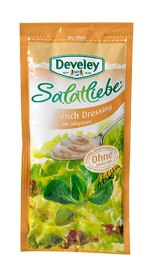 Develey French Dressing 75 ml Portionsbeutel